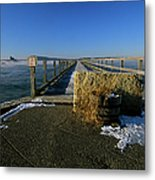 Fort Foster - Kittery Maine Usa Metal Print