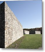 Fort Frederick In Maryland Metal Print