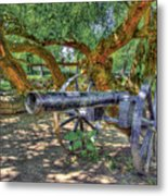 Fort Harrod Cannon Metal Print
