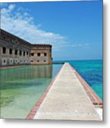 Fort Jefferson Dry Tortugas Metal Print