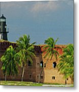 Fort Jefferson Metal Print