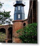 Fort Jefferson Light House Metal Print
