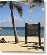 Fort Lauderdale Beach Metal Print