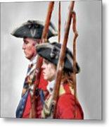 Fort Ligonier Soldiers Metal Print