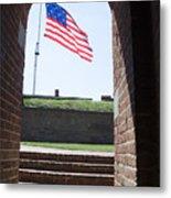 Fort Mchenry Star Spangled Banner Metal Print