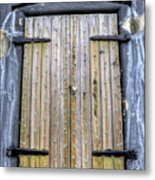 Fort Moultrie Bunker Door Metal Print