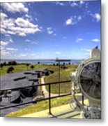 Fort Moultrie Signal Light Metal Print