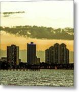 Fort Myers Skyline Metal Print