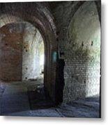 Fort Pickens Corridors Metal Print