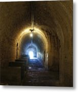 Fort Pickens Hall Metal Print