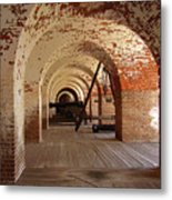 Fort Pulaski II Metal Print