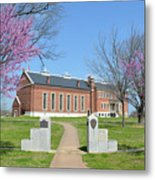 Fort Smith National Historic Site Gateway C Metal Print