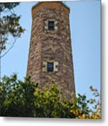 Fort Story Light House Metal Print