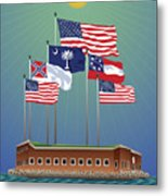 Fort Sumter, Charleston, Sc Metal Print