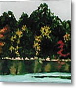 Fort Toulouse Coosa River Metal Print