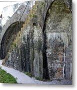 Fort Walls Metal Print