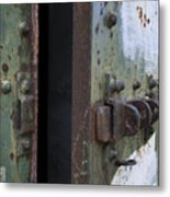 Fort Worden Detail 3586 Metal Print