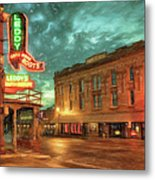 Fort Worth Impressions Main And Exchange Metal Print