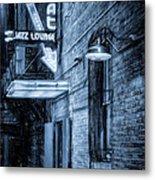 Fort Worth Impressions Scat Lounge Bw Metal Print