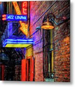 Fort Worth Impressions Scat Lounge Metal Print