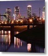 Fort Worth Panorama Metal Print