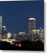 Fort Worth Skyline 051918 Metal Print