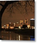 Fort Worth Skyline Metal Print