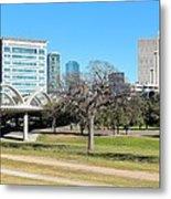 Fort Worth Wide Angle Metal Print