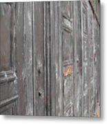 Fortress Doors Metal Print