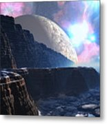 Fortress Of Nimmbl Metal Print