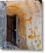Fortress Window Metal Print