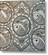 Fortune Fish Metal Print