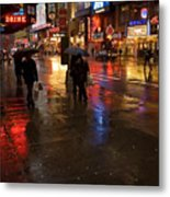 Forty Second St. Metal Print