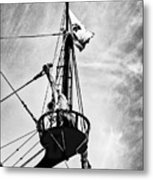Forward Crow's Nest Metal Print