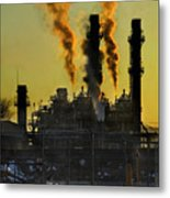 Fossil Fuels Metal Print