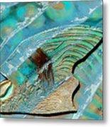 Fossil On The Shore Metal Print