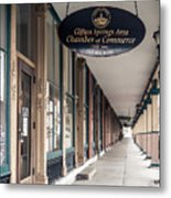 Foster Building In Clifton Springs Metal Print