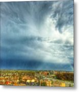 Founds Clouds Metal Print