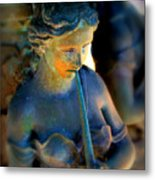 Fountain Girl Metal Print