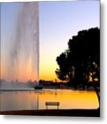 Fountain Hills Metal Print