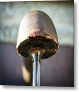 Fountain In Lobloch Metal Print
