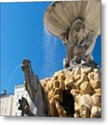 Fountain Ll Metal Print