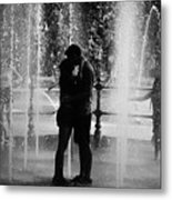 Fountain Love Metal Print