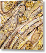 Fountain Of Love Every Drop Is Promising Eternal Passion Metal Print