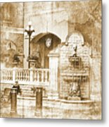 Fountain Of Rest Metal Print