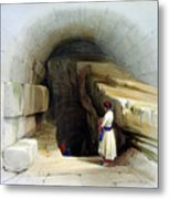Fountain Of Siloam Valley Of Jehosophat 1842 Metal Print