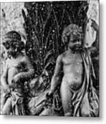 Fountain People Metal Print