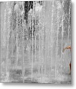 Fountain Play One Metal Print