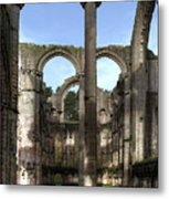 Fountains Abbey 4 Metal Print