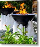Fountains Of Fire Metal Print